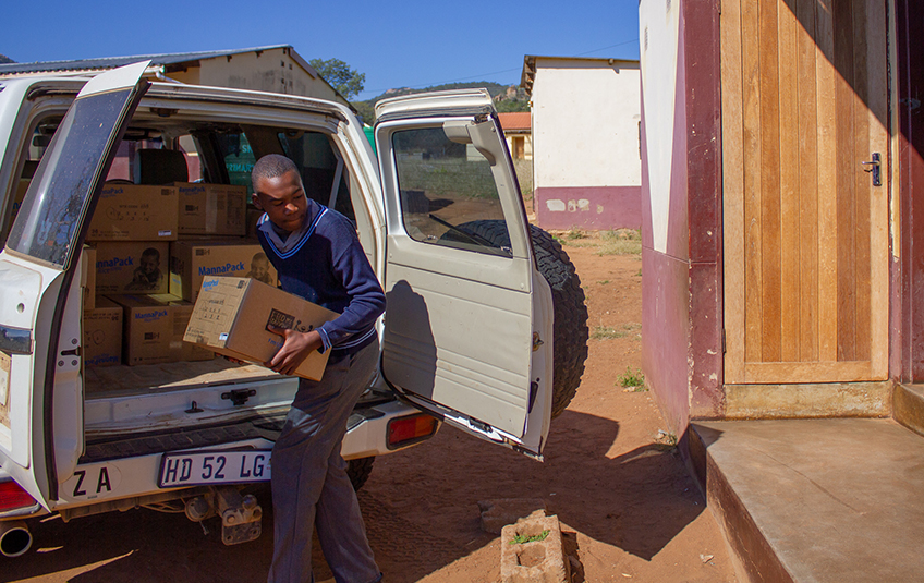 In eSwatini: Hope is > Isolation