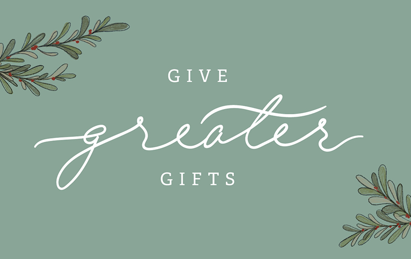 Give Gifts that Matter this Christmas