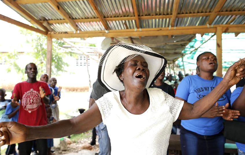 In Haiti: A Community 'Risen from Death'