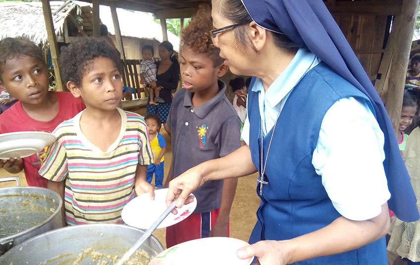 Sisters Bring Food and Hope to Remote Villages in the Philippines