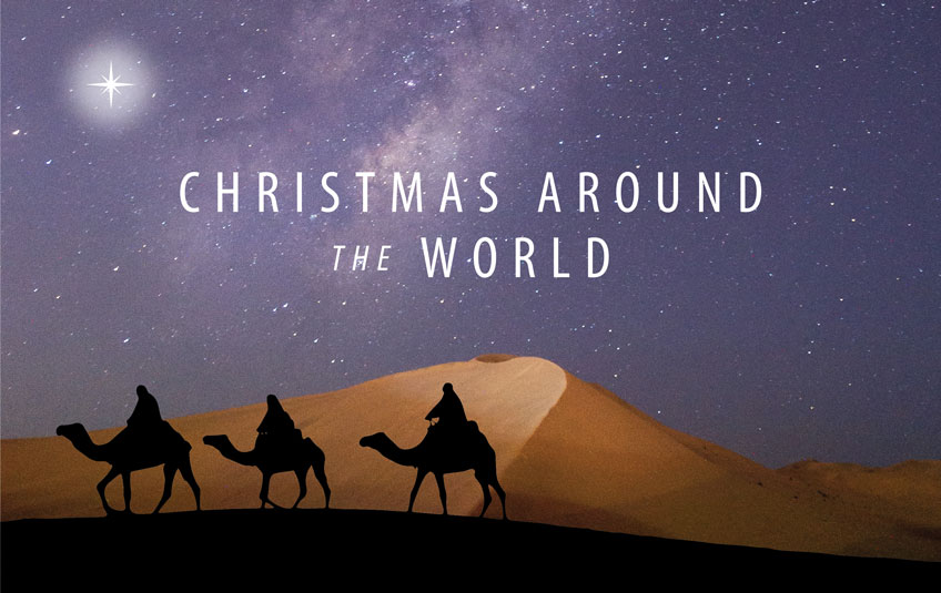 Thank you for celebrating Christmas Around the World!