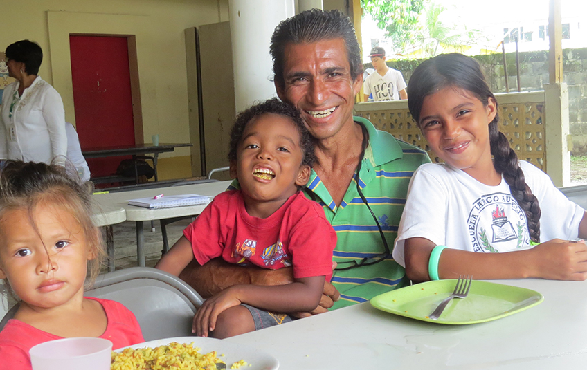 In Honduras: A Father's Love