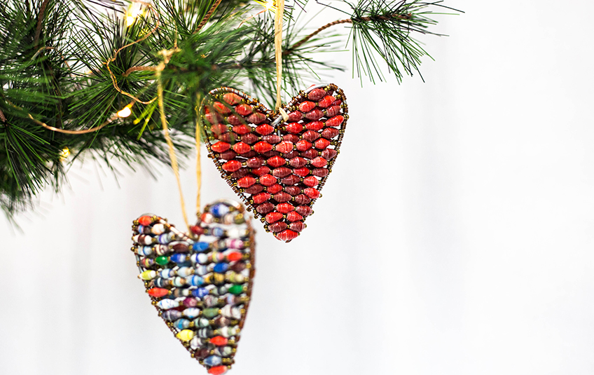 MarketPlace Christmas Collection: $80 Heart Ornament