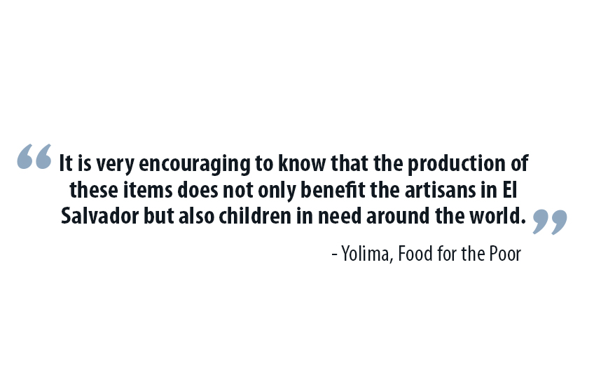 quote from food for the poor artisan