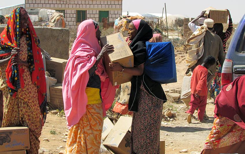 In Somalia: On the Brink of Famine