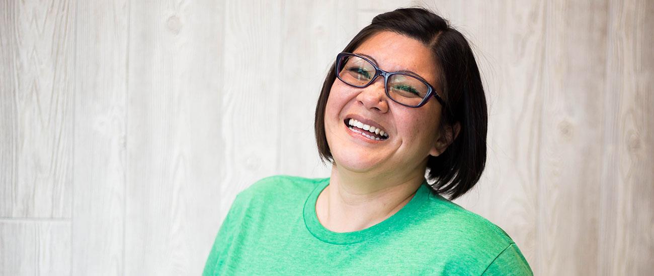 Jenni, FMSC staff member
