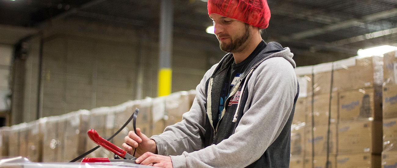 Adam, a Team Leader at FMSC