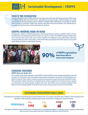 Sustainable Development - CROPPS