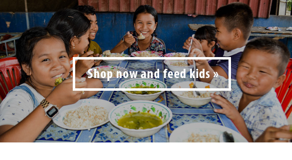 shop now and feed kids