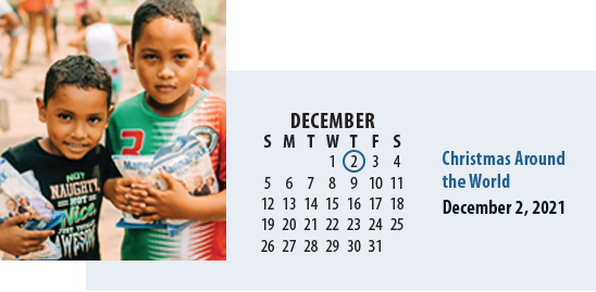 FMSC Virtual Experience: Christmas Around the World is December 2, 2021