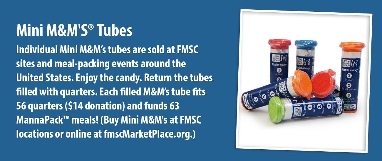 Mini M&M'S Tubes