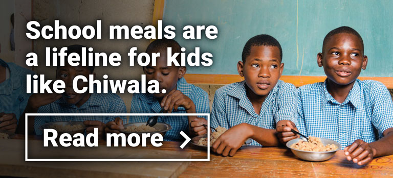 School meals are a lifeline for kids like Chiwala
