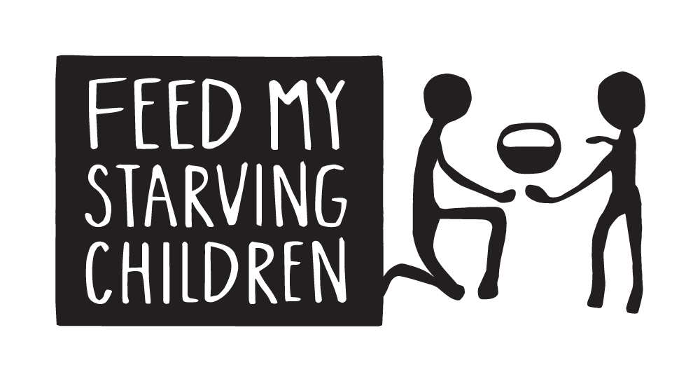 Feed My Starving Children Black Logo