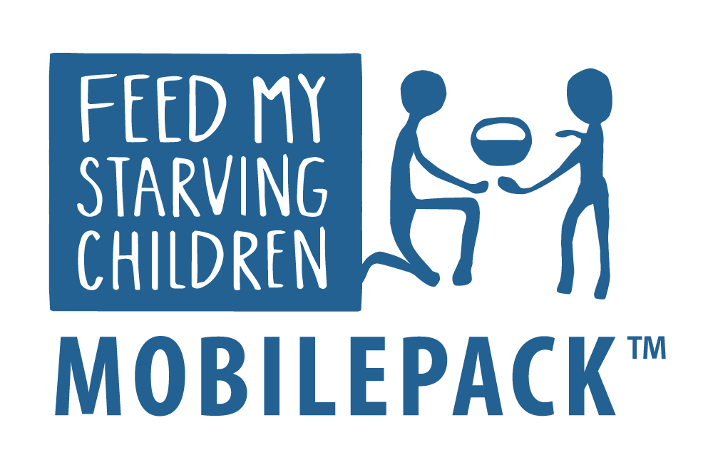 Feed My Starving Children Blue MobilePack Logo