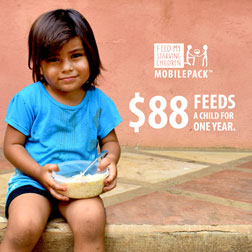 FMSC Instagram post - $88 feeds a child for one year.