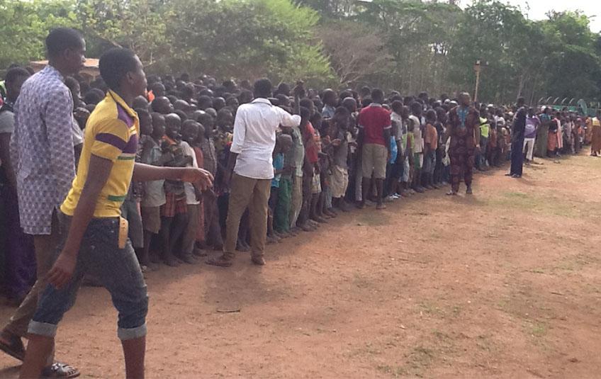 Nigerians Fleeing Boko Haram Receive MannaPack Meals