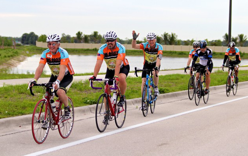 Biking Across Florida for Hungry Kids