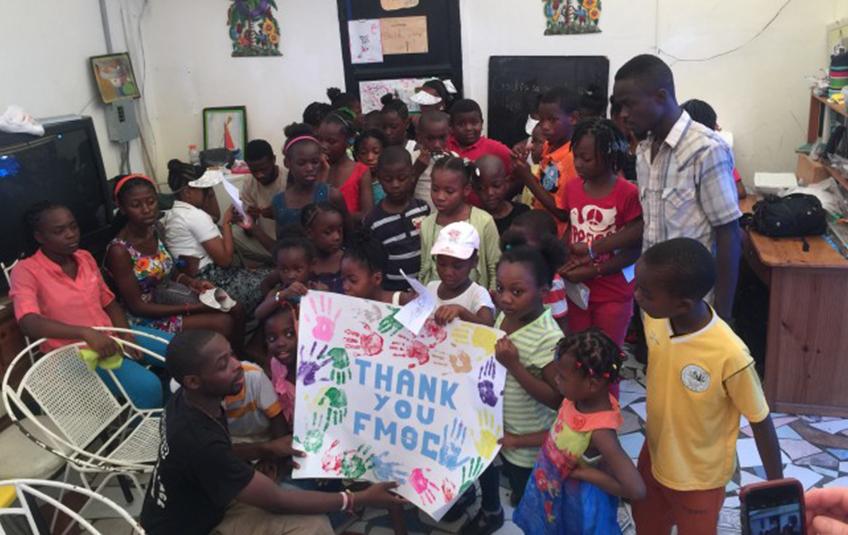 In Haiti: Love in Action
