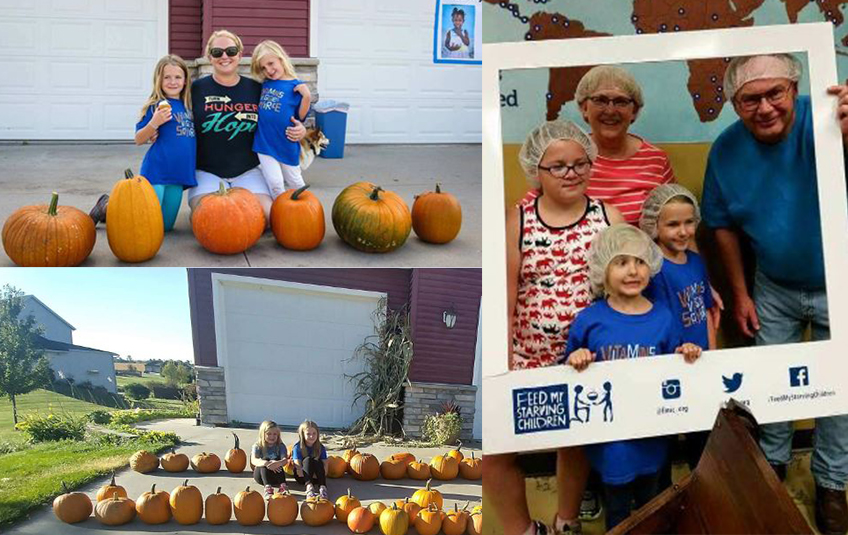 One Family, Four Years of Pumpkins, Thousands of Meals