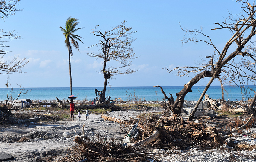 'What I Saw in Haiti was Truly Devastating'