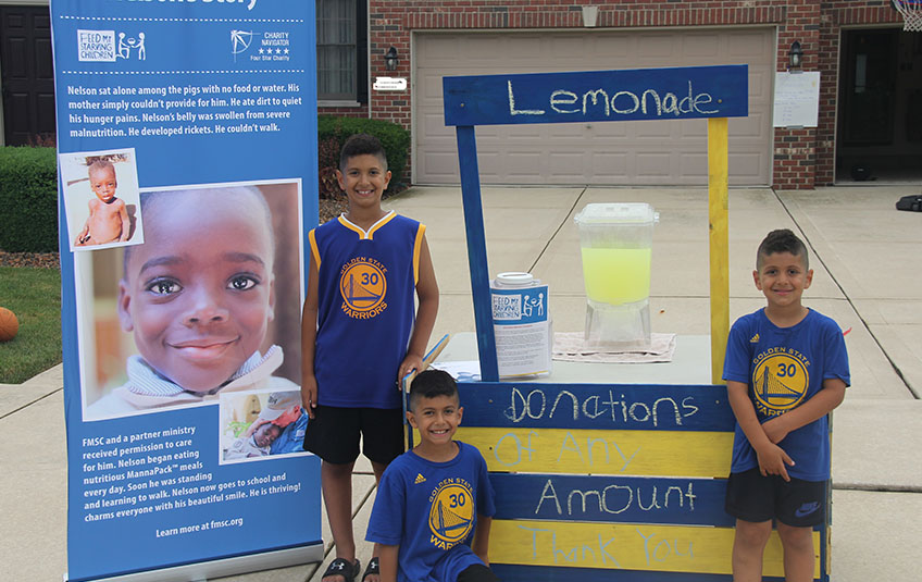 A Lemonade Stand to Feed a Village