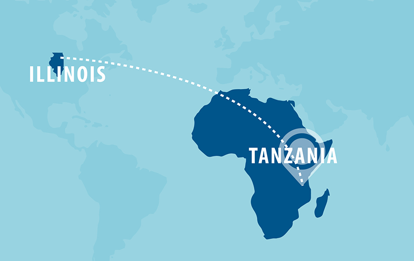 From Illinois to Tanzania